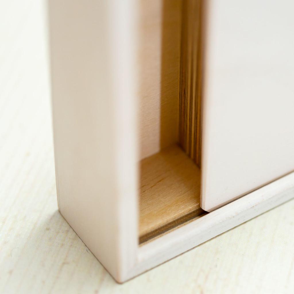 Holzbox für Fotos inkl. persönlicher Gravur
